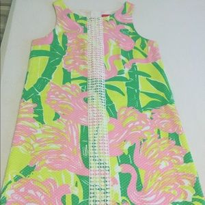 Lilly Pulitzer Flamingo dress for Target size 00